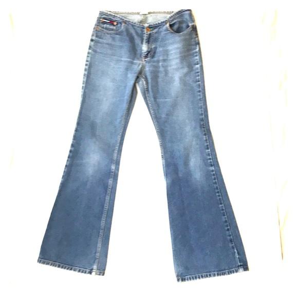 f85b95e5 Tommy Hilfiger Jeans   Vintage Hip Huggers Flare Sz7   Poshmark
